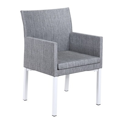 Patio Upholstery Arm Chair Aluminum Outdoor