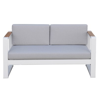 Aluminum Sectionals Loveseat