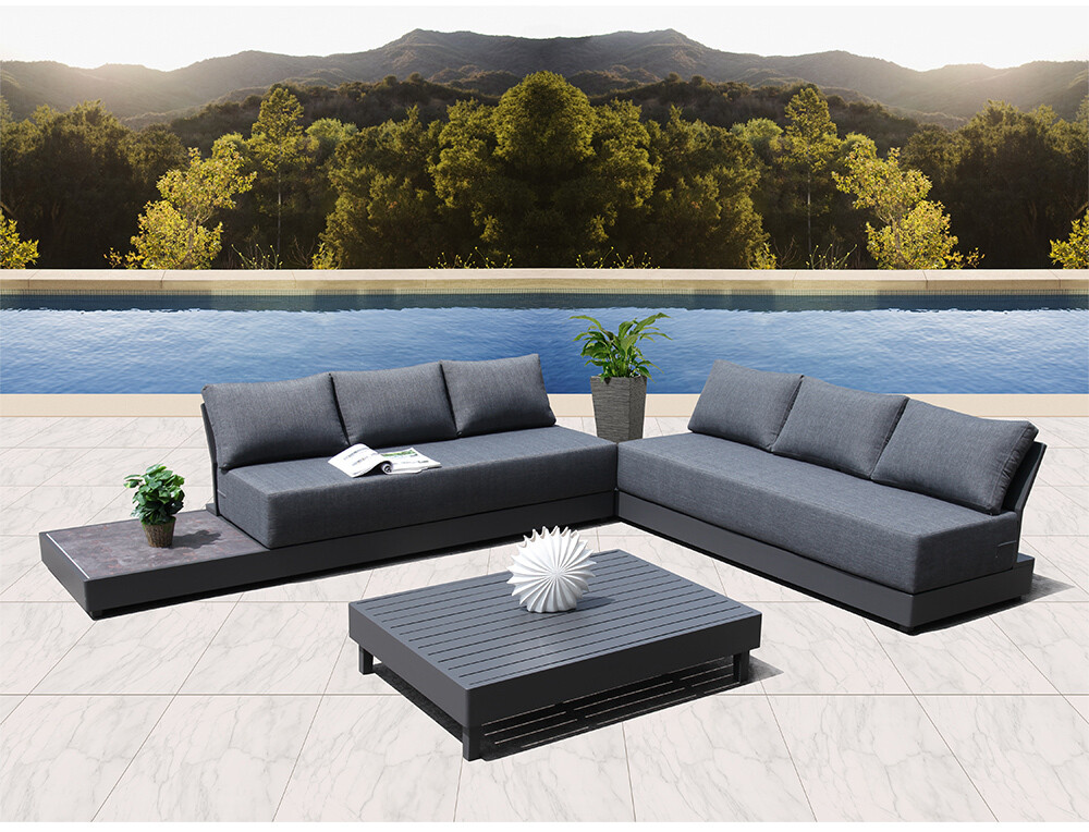 Upholstered Outdoor Sectional Sofa