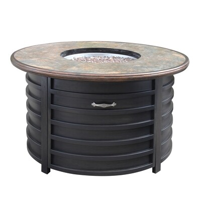 commercial outdoor patio aluminum fire pits table for garden hotel contract