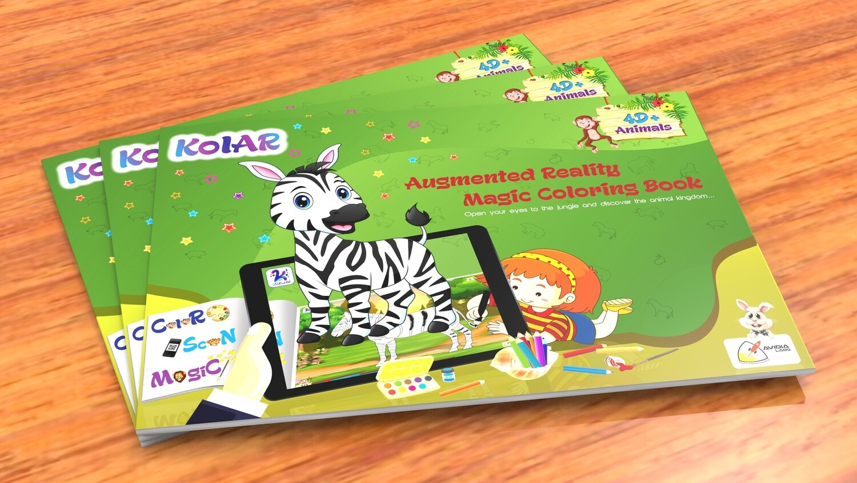 Avidia KolAR - 4D+ Augmented Reality Animals Color Book