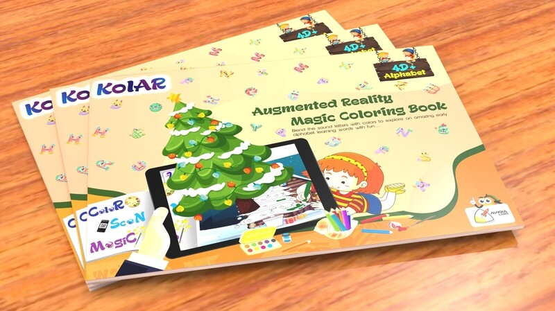 Avidia KolAR - 4D+ Augmented Reality Alphabets Color Book