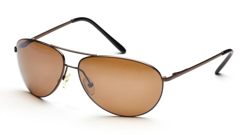 """Очки для водителя """"солнце"""" AS007 коричневый"""