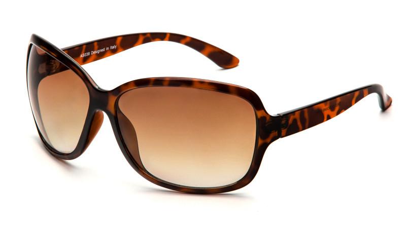Солнцезащитные очки градиент AS038 черепаховый