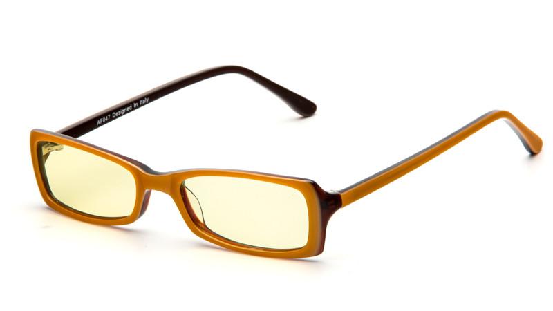 Очки для компьютера AF047 желто-черный