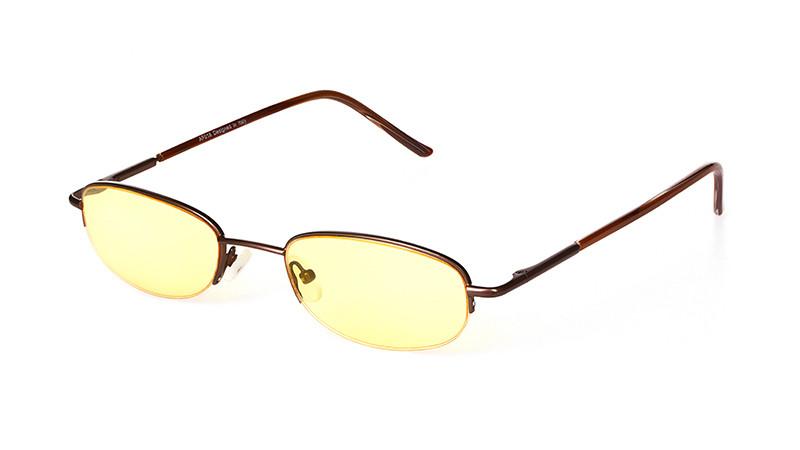 Очки для компьютера AF018 коричневый