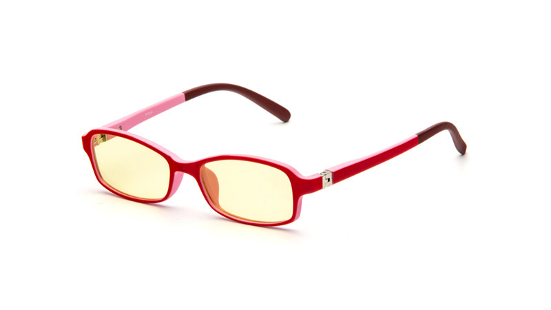 Очки для компьютера детские AF050 красно-розовый