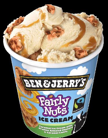 Ben & Jerry's - Fairly Nuts (450 ml)