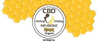 CBD Infusionz CBD Honey Full Spectrum 1000MG