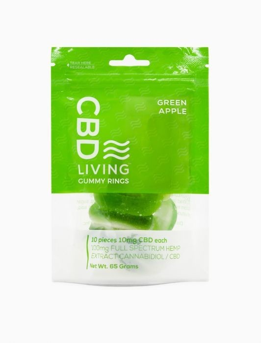 CBD Living Full Spectrum Apple Rings 100mg