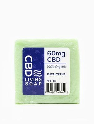 CBD Living Soap Eucalyptus - 40MG