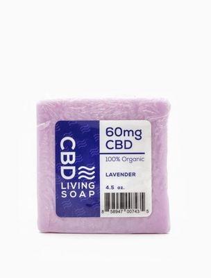 CBD Living Soap - Lavender 40MG CBD