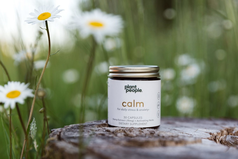 Plant People Be Calm CBD Capsules