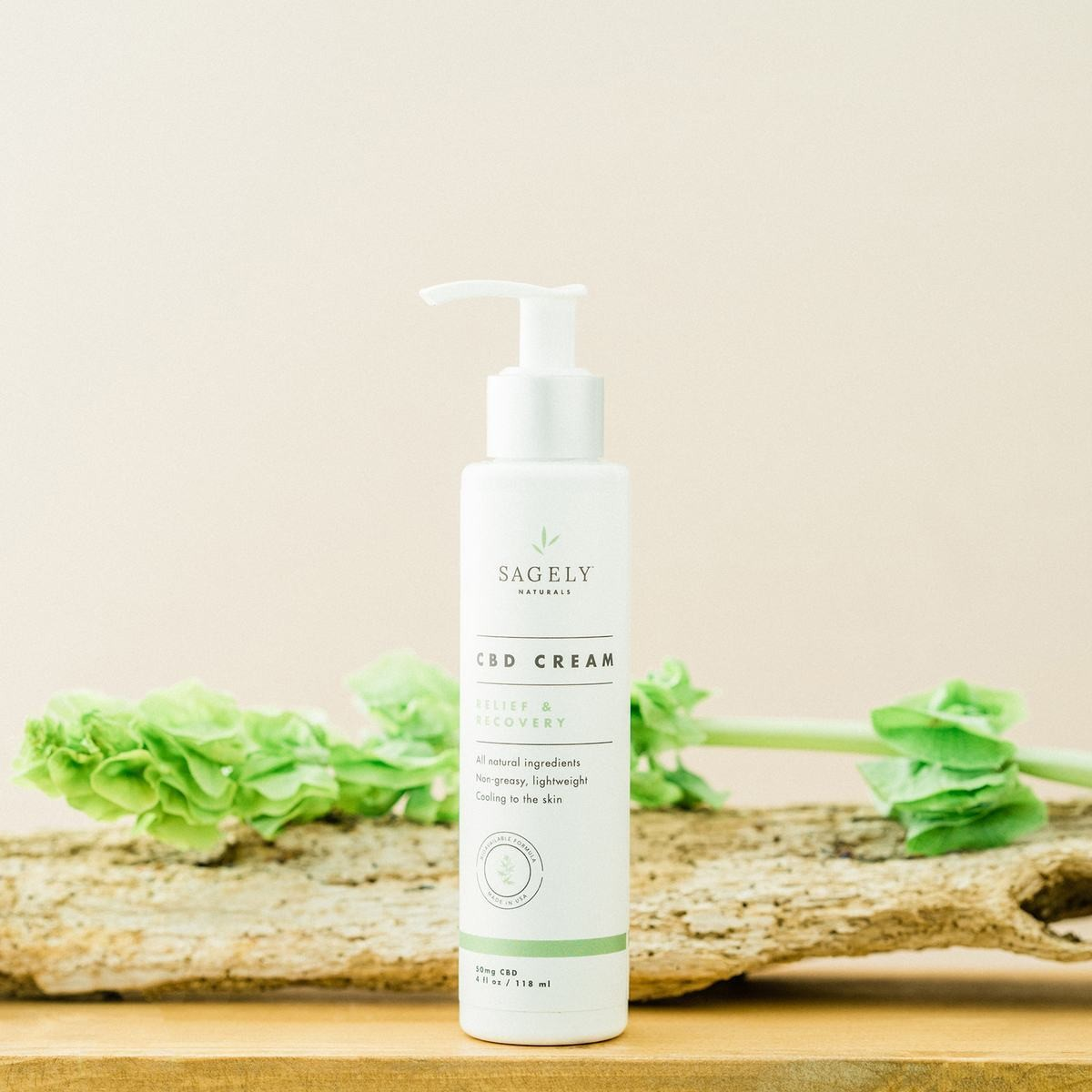 Sagely Naturals CBD Relief and Recovery Cream