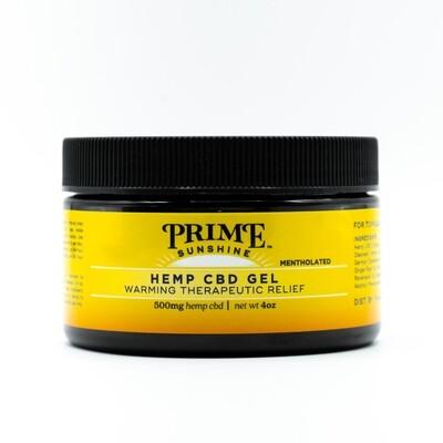 Prime Sunshine CBD Pain Gel -500mg CBD