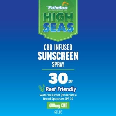 High Seas 400mg CBD Sunscreen 30SPF
