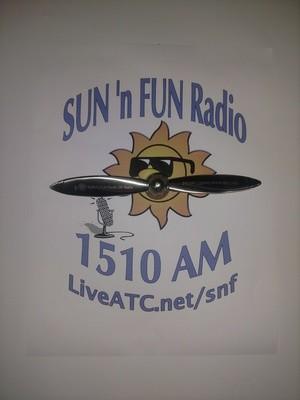 SUN 'n FUN Radio 25th Anniversary Spinner Prop SHIP IT TO ME!!!
