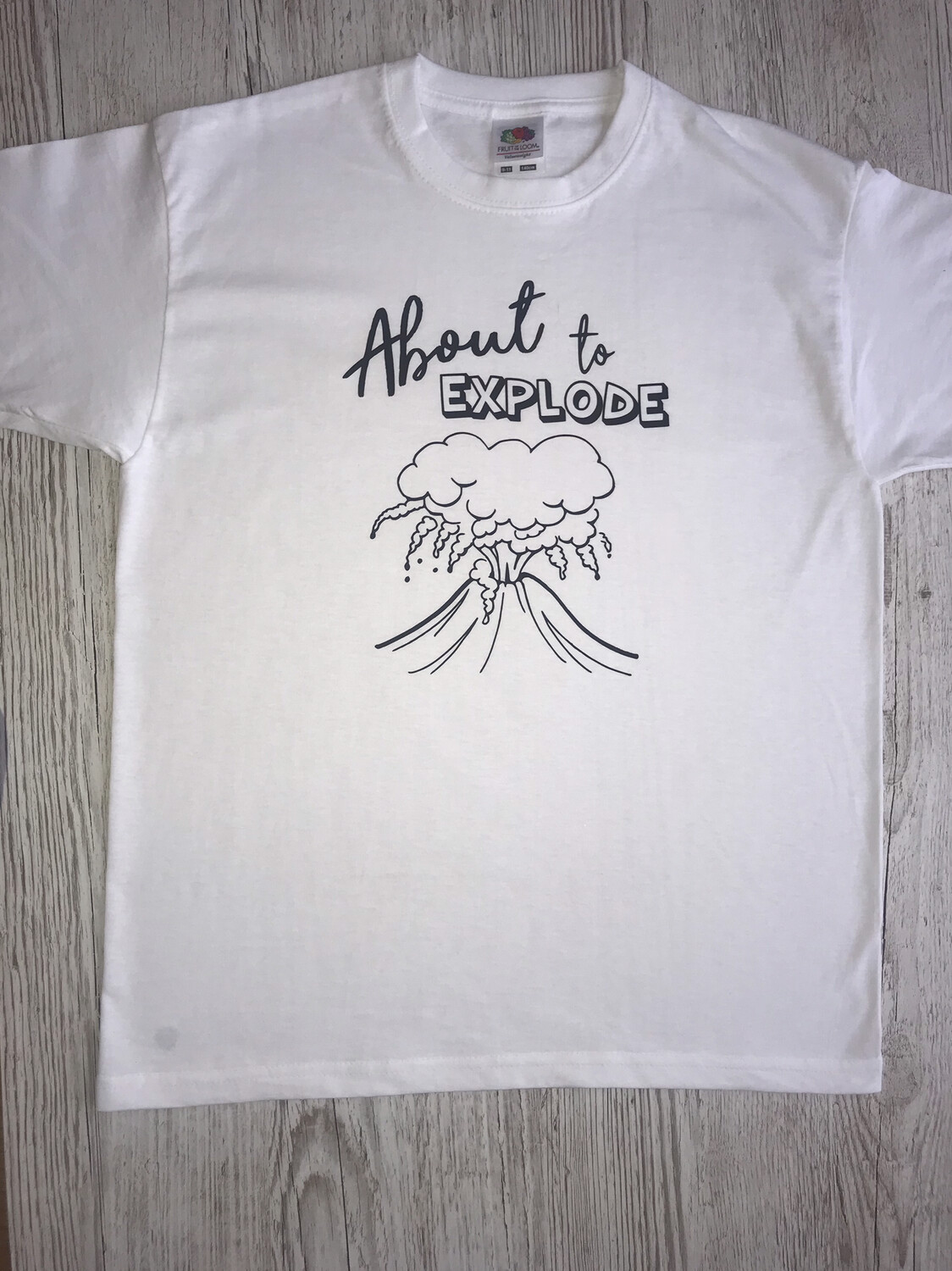 About To Explode Design