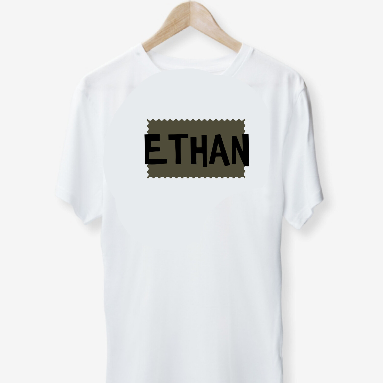 Stamped Name T-shirt (kids)
