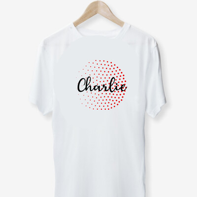 Circled Name T-shirt (kids)