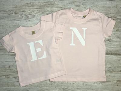 Initial T-shirt (kids)