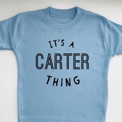 It's a name thing T-shirt