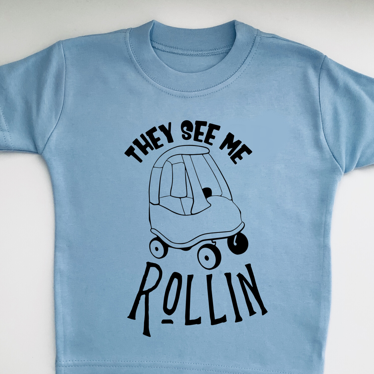 They See Me Rollin tshirt