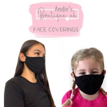 Face Coverings (personalised Name)