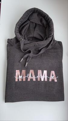 Adults - Mama + Script Name Sweatshirt/hoodie/snoodie