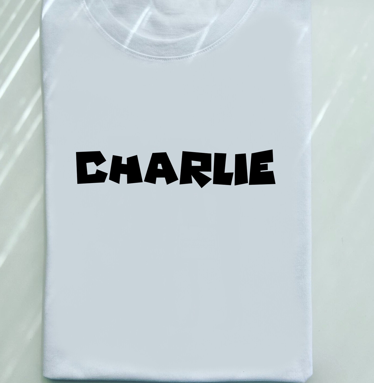 Chunky Name Tee