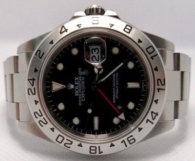 ROLEX EXPLORER 2 'SWISS' ONLY BLACK DIAL REF 16570