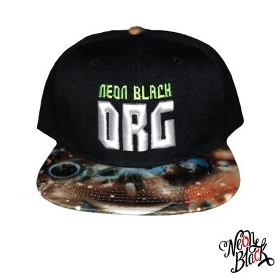 Galaxy - Neon Black Org