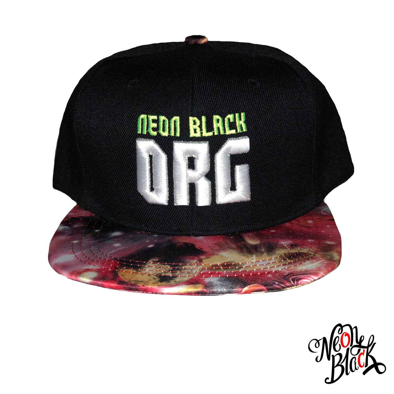 Red Galaxy - Neon Black Org