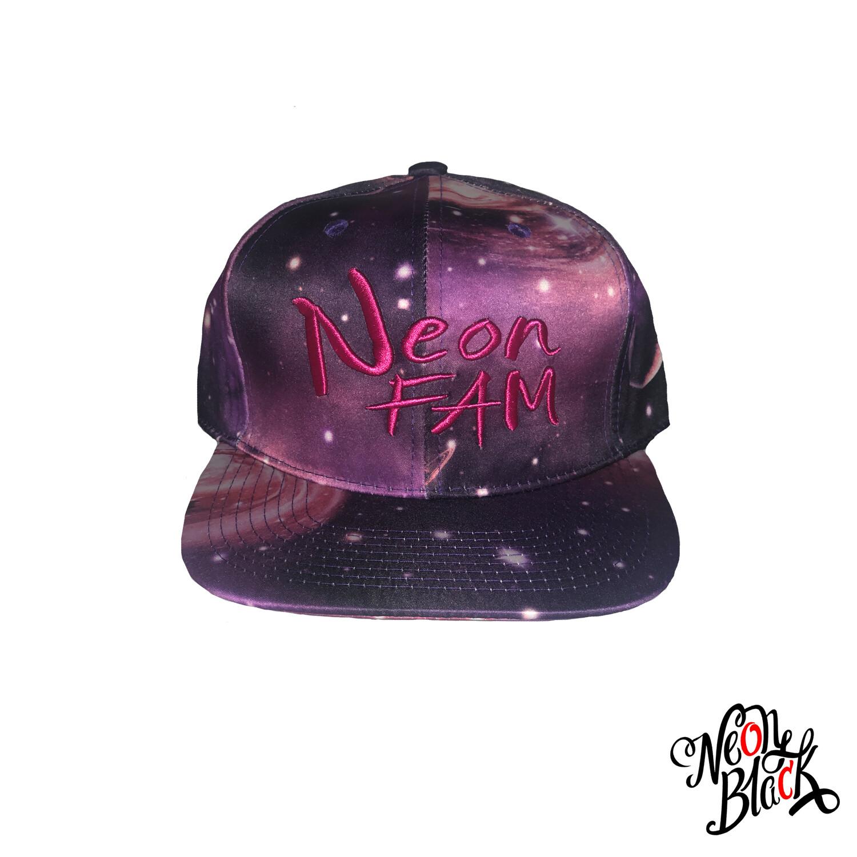Neon Fam - Purple All Over Galaxy