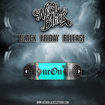 neOn OC - Teal & Black