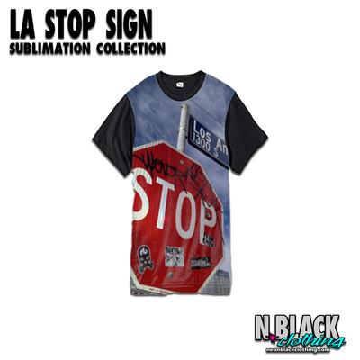 LA Stop Sign - Sublimation Collection #1