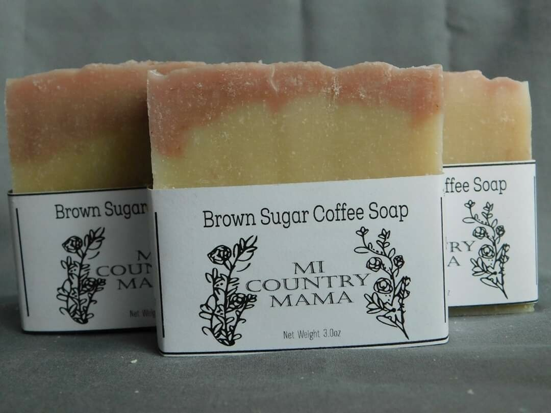 Brown Sugar Coffee Soap 3oz