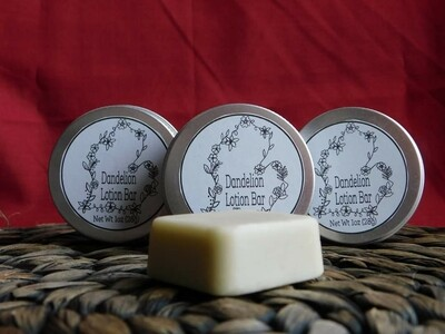 Dandelion Lotion Bar 1oz