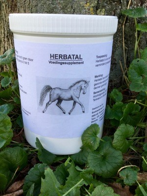 HERBATAL - Uw paard gaat beter in zijn vel zitten.