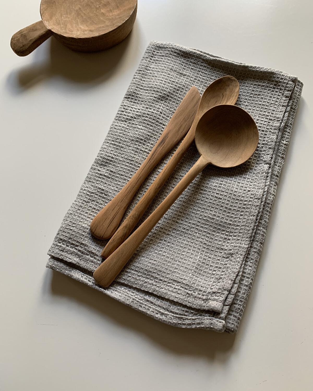 Wood Cutlery / 食のための道具三点セット