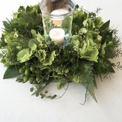 Flower Delivery / Centre de Table avec Bougie