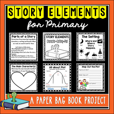 Story Elements (Primary) Paper Bag Book