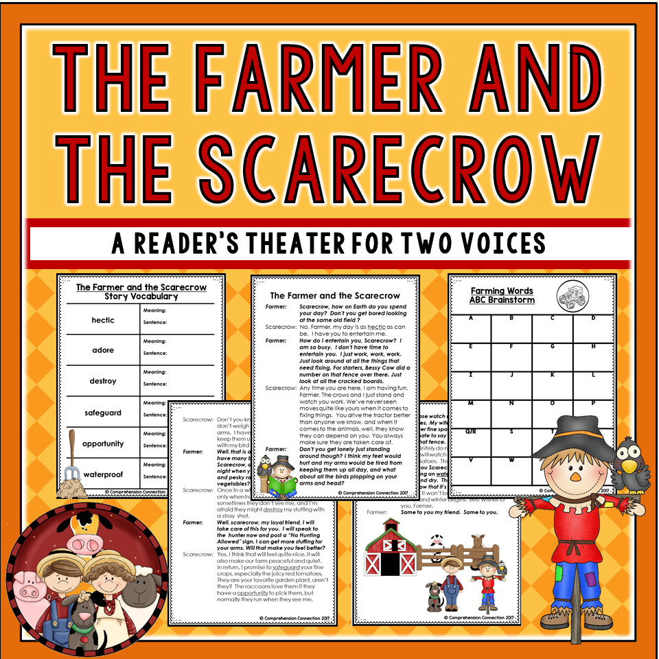 The Farmer and the Scarecrow Partner Play