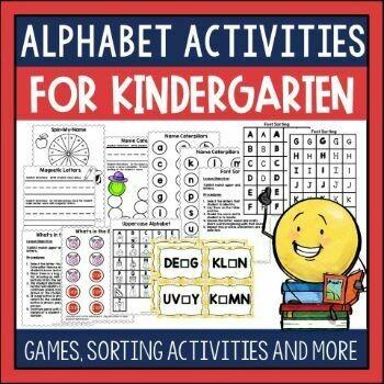 Alphabet Activities for Emergent Readers