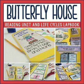 Butterfly House by Eve Bunting Activities