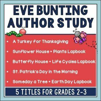 Eve Bunting Book Bundle