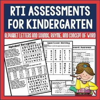 Kindergarten Screening and Progress Monitoring