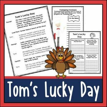 Tom's Lucky Day Partner Play for Thanksgiving
