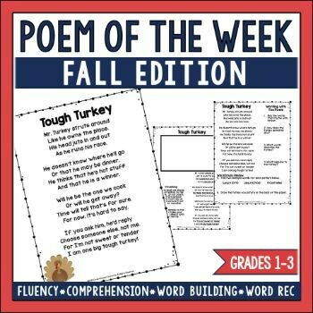 Poem of the Week Fall Edition