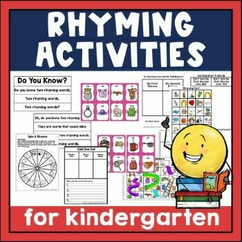 Rhyming Activities for Emergent Readers